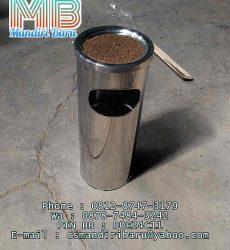 Gambar model tong sampah stainless stell murah di bekasi tanggerang bogor