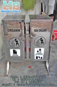produsen Drum sampah stainless harga murah di tanggerang bekasi