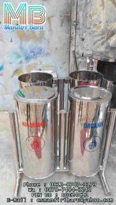 standing ashtray bulat swing organik dan non organik murah