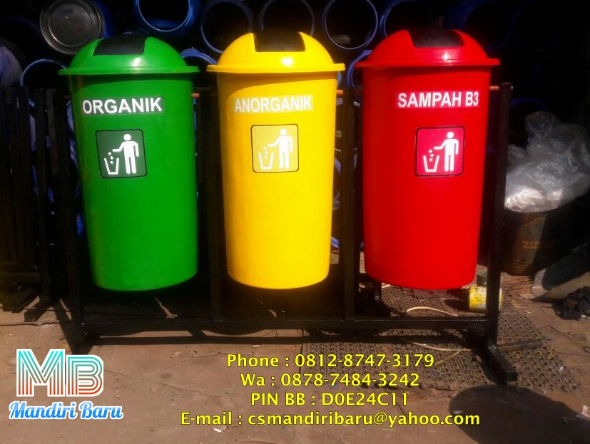 tempat-sampah-fiberglass-besar-80-liter-3-in-1-pilah-pindah-tiang-pindah-harga-murah