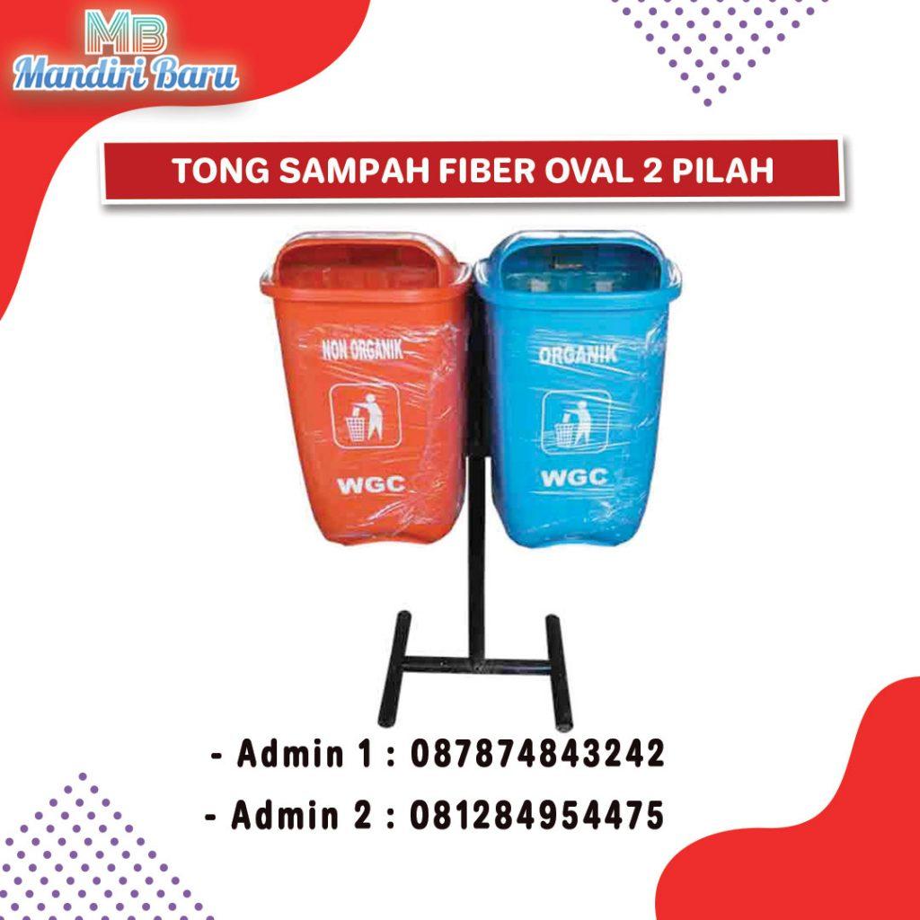 tong sampah fiber, jual tong fiber, harga tempat sampah fiber, tong fiber,