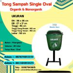 TS FIBER OVAL 40 LITER SINGLE