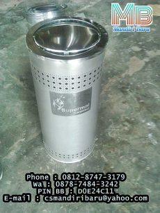 harga standing ashtray stainless stell murah di surabaya dan semarang