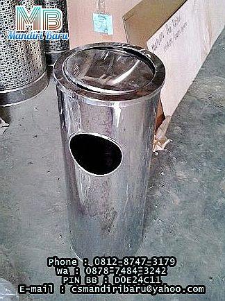 standing ashtray STAINLESS KRISBOW ACE HADWARE TERBARU MURAH