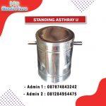 STANDING ASHTRAY U