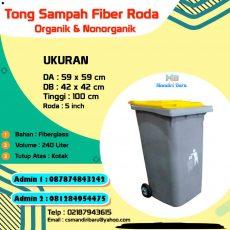 harga tempat sampah fiber 240 Liter, jual tong sampah fiber di Jakarta, harga tong sampah fiber di Bandung, jual tempat sampah fiber di Surabaya,