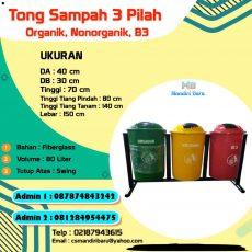 harga tempat sampah fiber, jual tong sampah fiber, tong sampah fiber murah, tempat sampah fiber di Surabaya,