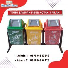 jual tong sampah fiber, harga tong sampah fiber, tong fiber,