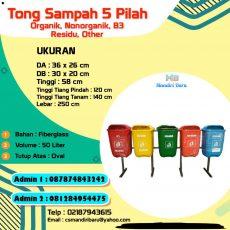 jual tong sampah fiberglass, harga tong sampah fiber , tong sampah fiber di Jakarta,