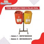 TONG SAMPAH OVAL 2 IN 1