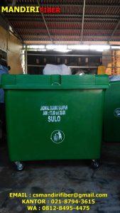 Tong sampah fiber 660 liter