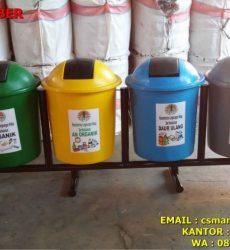 tong-sampah-fiber-4-in-1,harga tong sampahfiber jakarta basah kering dan b3, jual tong sampah 3 warna pilah di bandung