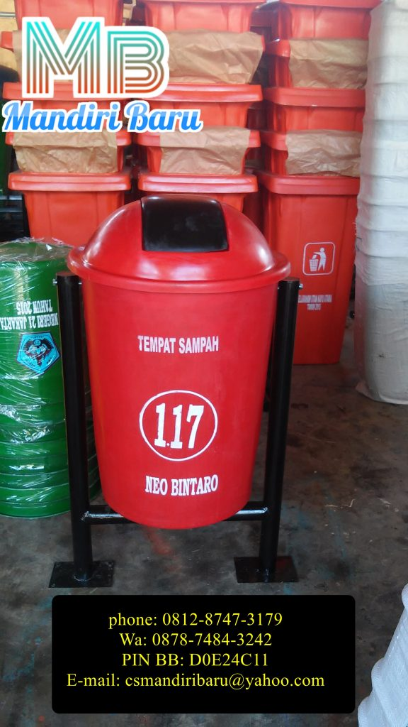 jual tong sampah fiberglass, tong sampah fiberglass,