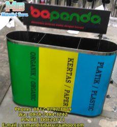 gambar tempat sampah stainless unik , harga tempat sampah stainless besar murah , tempat sampah stainless model unik