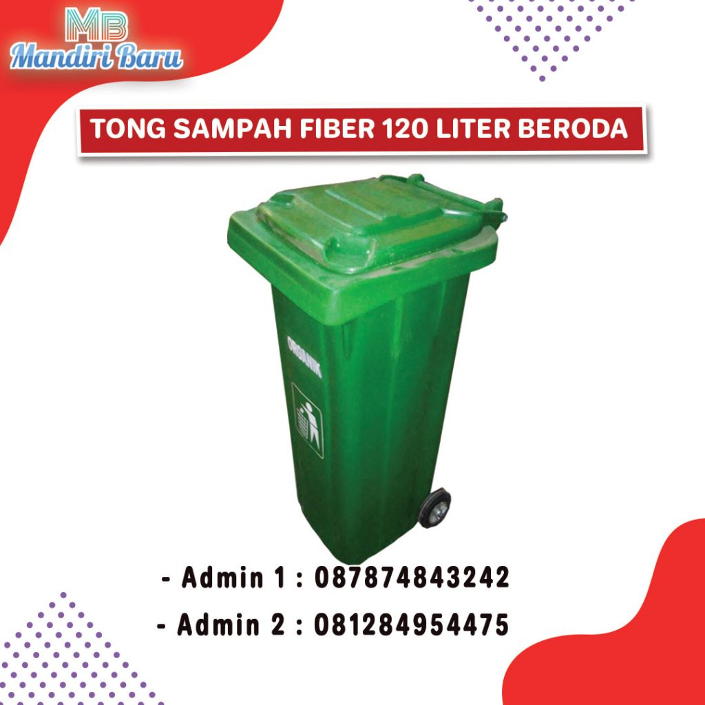 tong sampah fiber, harga tong fiber, jual tong fiber,