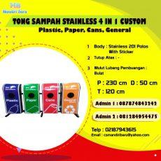 jual tempat sampah stainless, jual tempat sampah stainless di Bandung, harg atong sampah stainless di Jakarta,