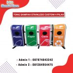 Standing Asthray X 4 in 1 Gabung