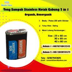 tong sampah stainless murah, harga tong sampah stainless di Bandung, Jual tong sampah stainless,