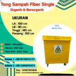 Tong Sampah Fiberglass 1200 Liter