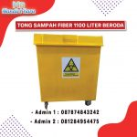 Tong Sampah Fiberglass 1100 Liter
