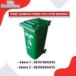Tempat sampah beroda kapasitas 240 liter