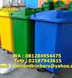 jual tong sampah fiberglass di Surabaya,