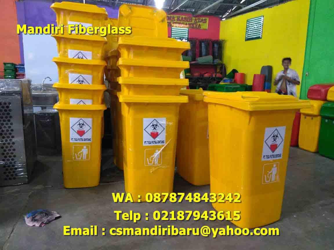 Lokasi Jual tempat sampah fiberglass di Surabaya | 0812-8495-4475 Pesan Tong sampah Fiber stainless DISINI AJA !