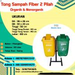 TONG SAMPAH FIBERGLASS 2 IN 1 CUSTOM