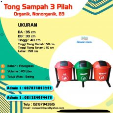 harga tong sampah fiberglass, tong sampah fiber, tempat sampah fiber murah, jual tempat sampah fiber di Jakarta,