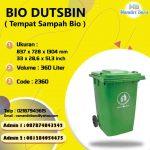 TONG SAMPAH PLASTIK 360 LITER