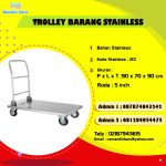 TROLLEY BARANG STAINLESS
