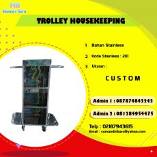harga trolley house keeping, jual trolley house keeping, trollley house keeping,