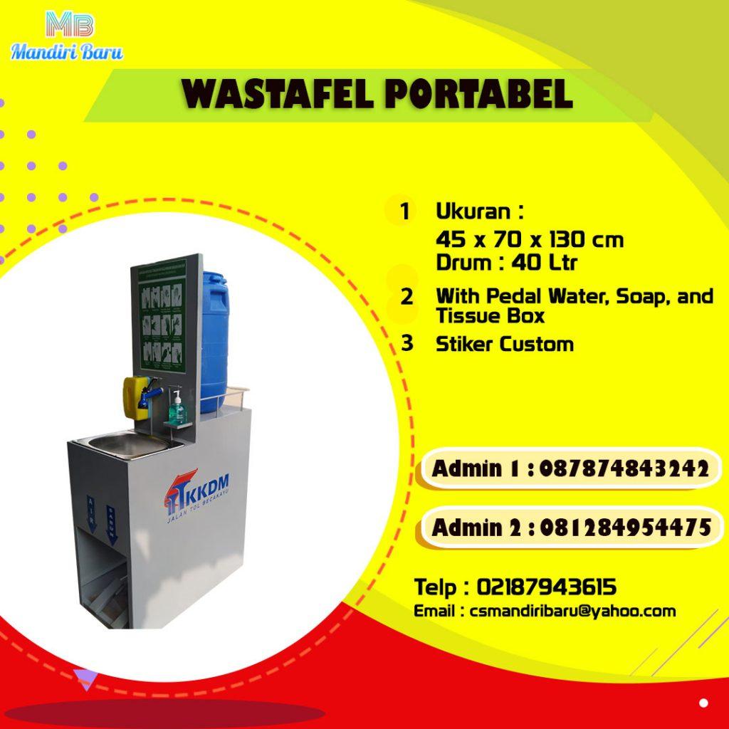 harga wastafel custom, jual wastafel portabel, wastafel portabel custom,